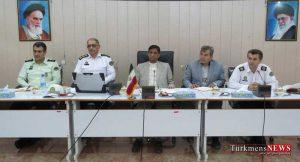Agh Ghala 19 Sh 300x162 - دومین جلسه شورای ترافیک شهرستان آق قلا برگزار شد