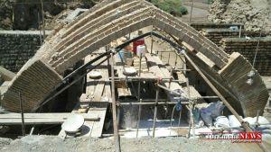 Agh Ghala 31 1 M - آخرین تصاویر از روند عملیات بازسازی پل تاریخی آققلا