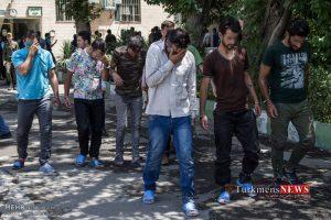 Arazel 16 Sh 300x200 - ۲۱ نفر از اراذل و اوباش معروف گلستان دستگیر شدند