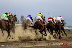 Asbdavani 1 24 T 300x200 - هفته سوم کورس اسبدوانی تابستانه بندرترکمن برگزار شد