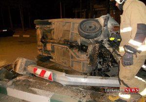 Hadese 16 Sh 300x209 - سانحه رانندگی در استان گلستان ۳ کشته و ۲ مصدوم برجای گذاشت