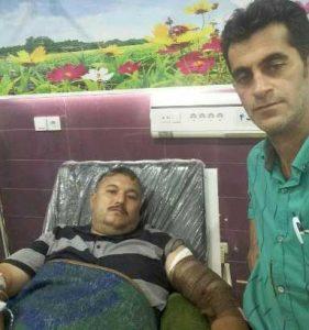 Hamle Khers 14 Sh 281x300 - حمله خرس یک نفر را در گالیکش روانه بیمارستان کرد