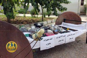 Mahara 2 300x200 - بیش از 21 کیلوگرم مواد مخدر در روستاهای مرزی گنبد کاووس کشف و 2 نفر دستگیر شد