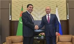 Russian Turkmenistan 6 M - رئیس جمهور روسیه دوشنبه به ترکمنستان سفر میکند