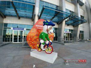 Turkmenistan 15 300x225 - تشریفات المپیکی ترکمنستان برای بازیهای داخل سالن آسیا +تصاویر