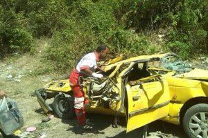 Vajgoni 17 Sh 300x200 - واژگونی خودرو در گلستان یک کشته و ۵ مصدوم برجای گذاشت