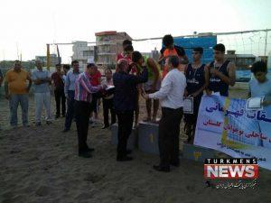 Volyball Saheli Gonbad 300x225 - قهرمانی نوجوانان گنبد کاووس در نخستین دوره والیبال ساحلی استان گلستان+تصویر