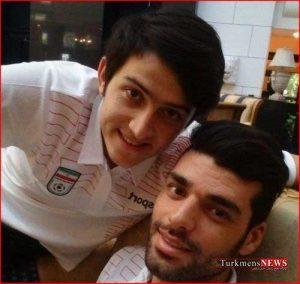 footbal 7sh 300x284 - تصویر «زوج ایرانی» در صفحه اينستاگرامى فیفا