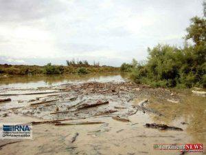 gharesoo 4m 300x225 - رودخانه قره سو در غرب گلستان لبریز از آب شد