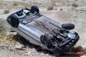 havades 4m 300x200 - یک کشته بر اثر واژگونی پراید در جاه مرزی مراوه تپه- گنبدکاووس