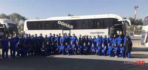 karvanv 23sh 300x143 - کاروان ورزشی ایران راهی ترکمنستان شد