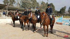 savarkari 1sh - اعزام سوارکاران ایرانی با اسبهای خود به بازیهای داخل سالن آسیا ترکمنستان