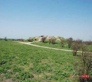 tape 1m 300x268 - ثبت توقلق تپه و شاه محمدتپه آق قلا در فهرست آثار ملی