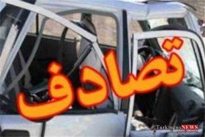 tasadof 2sh 300x200 - تصادف کامیون با سواری در گالیکش/ سه کشته و سه مجروح
