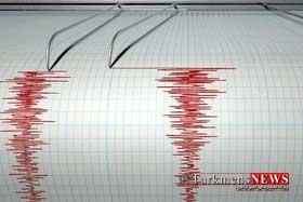 zelzele 6sh - وقوع زلزله خفیف در غرب گلستان